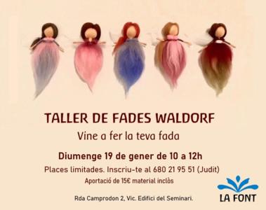 Conferències i tallers 1r trimestre 2020. Escola Waldorf La Font