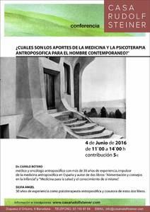 Cuáles son los aportes de la medicina y la psicoterapia antroposófica para el hombre contemporáneo Conferencia Dr. Botero y Silvia Ángel. Casa Rudolf Steiner