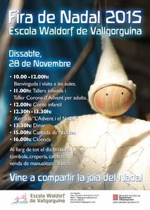 Fira de Nadal de l'Escola Waldorf de Vallgorguina