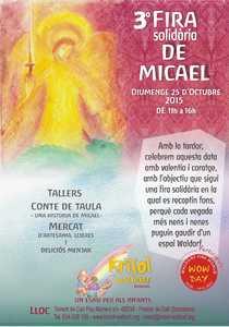 Fira solidària de Micael. Waldorf Krisol