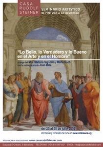 Lo bello, lo verdadero y lo bueno, en el arte y en el hombre. Seminari d'aquarel·la a càrrec de Stefano Signorin i Marta Such