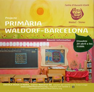Projecte de primària a Rosa d'Abril. Barcelona ciutat
