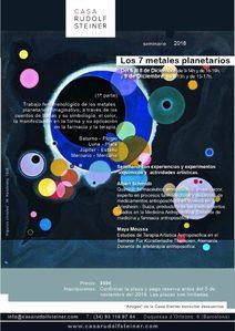 SEMINARIO LOS 7 METALES PLANETARIOS con Albert Schmidli y Maya Moussa