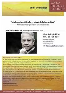 Taller de diálogo generativo Inteligencia artificial y el futuro de la humanidad a cargo de Nicanor Perlas